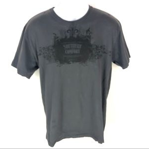 Southern Comfort Mens Black T-shirt L